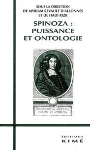 Myriam Revault d'Allonnes et  Collectif - SPINOZA. - Puissance et ontologie.