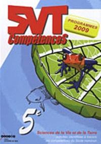 Myriam Vial et Hélène Valuy - SVT 5e - Activités identifiées à travers les compétences du socle commun, programmes 2009.