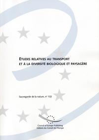 N de Saadeler - Etudes relatives au transport et à la diversité biologique et paysagère.