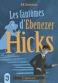 N.M. Zimmermann - Les fantômes d'Ebenezer Hicks Tome 1 : Esprit, es-tu là ?.