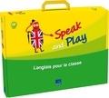 N Martin et M Surroz-Bost - Speak and Play CP - L'anglais pour la classe. 1 CD audio