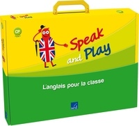 N Martin et M Surroz-Bost - Speak and Play CP - L'anglais pour la classe. 1 CD audio