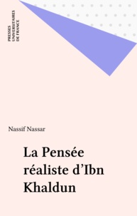 N Nassar - La pensée réaliste d'Ibn KhaldÅun.