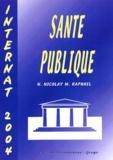 N Nicolay et M Raphaël - Santé publique - Internat 2004.