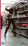 Nabil El-Haggar - A propos de la culture - Tome 1.