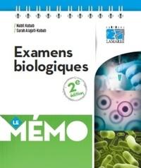 Nabil Kubab et Sabah Alajati-Kubab - Examens biologiques.