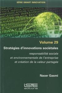 Nacer Gasmi - Stratégies d'innovations sociétales - Volume 29, Responsabilité sociale et environnementale de l'entreprise et création de la valeur partagée.