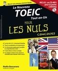 Nadia Bascarane - POUR LES NULS  : Le Toeic Tout-en-un Pour les Nuls Concours.