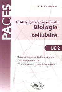 Galabria.be QCM corrigés et commentés de biologie cellulaire UE 2 Image