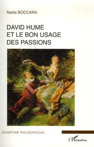 Nadia Boccara - David Hume et le bon usage des passions.