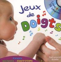 Nadia Bouchama et Marie-Pierre Tiffoin - Jeux de doigts. 1 CD audio