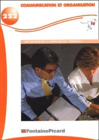 Nadia Dafri - Communication et organisation Terminale BEP comptabilité.