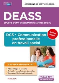 Nadia Dufeu-Bouchikhi et Séverine Lhez - DEASS Assistant de service social - DC3 Communication professionnelle en travail social.
