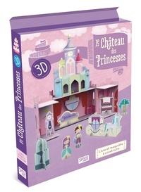 Nadia Fabris - Le château des princesses 3D - Livre et maquette à construire.