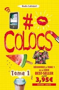 Livres en ligne téléchargements gratuits #Colocs Tome 1 par Nadia Lakhdari PDF MOBI FB2 en francais 9782380750126