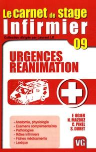 Nadia Mazouz et François Ogier - Urgences, réanimation.