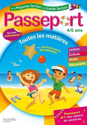 Passeport de la Moyenne Section à la Grande Section  Edition 2020