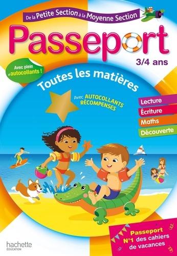 Passeport de la Petite Section à la Moyenne Section  Edition 2020