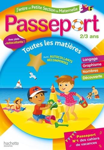 Passeport J'entre en petite section de maternelle  Edition 2020