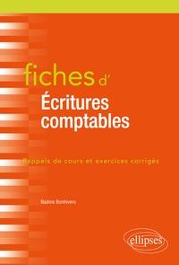 Nadine Bonhivers - Fiches d'écritures comptables.