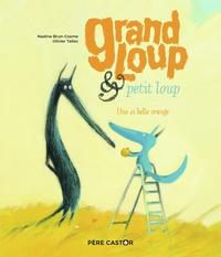 Nadine Brun-Cosme et Olivier Tallec - Grand Loup & petit loup - Une si belle orange.