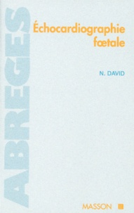 Nadine David - Échocardiographie foetale.