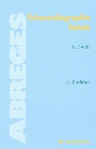Nadine David - Echocardiographie foetale - 2ème édition.