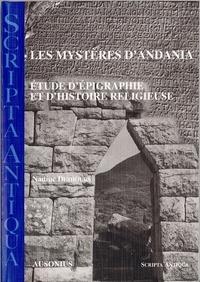Nadine Deshours - Les Mystères d'Andania - Etude d'épigraphie et d'histoire religieuse.
