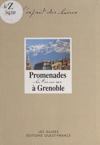Nadine Favre et Isabelle Calabre - Promenades littéraires à Grenoble.