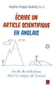 Accentsonline.fr Ecrire un article scientifique en anglais - Guide de rédaction dans la langue de Darwin Image