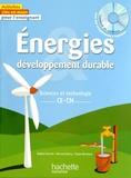 Nadine Fournial et Bernard Henry - Energie développement durable - Sciences et technologie, CE-CM. 1 CD audio