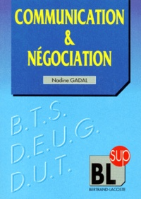 Nadine Gadal - Communication, négociation.
