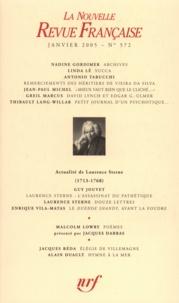 Nadine Gordimer et Linda Lê - La Nouvelle Revue Française N° 572 (janvier 2005 : .