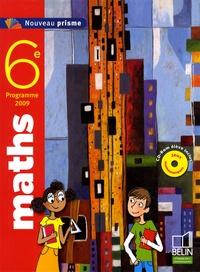 Nadine Jacob et Alain Sitbon - Maths 6e Nouveau prisme - Programme 2009. 1 Cédérom