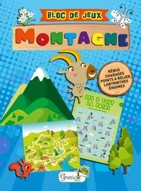 Nadine Marchetti - Petit bloc de jeux montagne.
