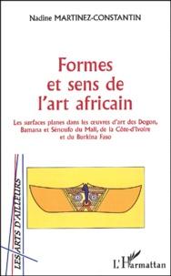 Formes et sens de lart africain - Les surfaces planes dans les oeuvres dart des Dogon, Bamana et Sénoufo du Mali, de la Côte dIvoire et du Burkina Faso.pdf
