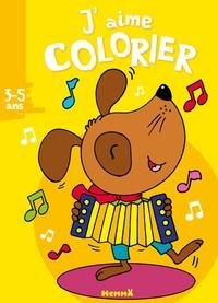 Nadine Piette - J'aime colorier chien.