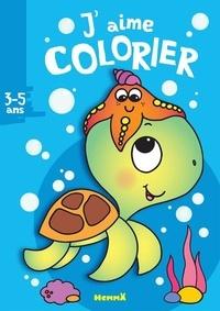 Nadine Piette - J'aime colorier Tortue.