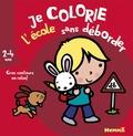 Nadine Piette - Je colorie l'école sans déborder.