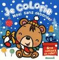 Nadine Piette - Je colorie Noël sans déborder - Ourson brun.