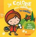 Nadine Piette - Je colorie sans déborder (2-4 ans) - Les contes.