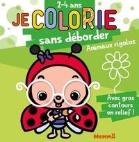 Nadine Piette - Je colorie sans déborder Animaux rigolos.