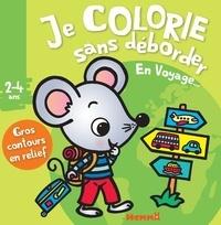 Nadine Piette - Je colorie sans déborder en voyage....