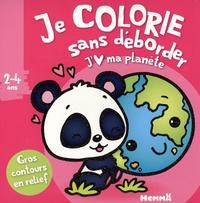 Nadine Piette - Je colorie sans déborder J'aime ma planète.