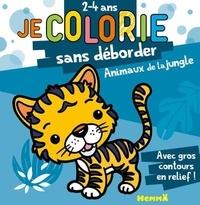 Nadine Piette - Je colorie sans déborder la jungle.