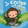 Nadine Piette - Je colorie sans déborder Les animaux sauvages - 2-4 ans.