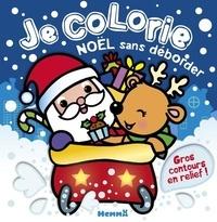 Nadine Piette - Je colorie sans déborder Noël.