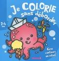Nadine Piette - Je colorie sans déborder : pieuvre - 2-4 ans.