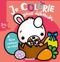 Nadine Piette - Je colorie sans déborder - Pâques.