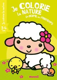 Nadine Piette - La ferme au printemps.